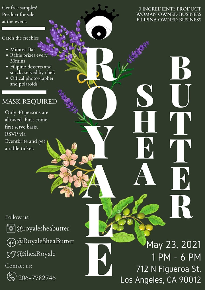 Royale Shea Butter Product Launch image