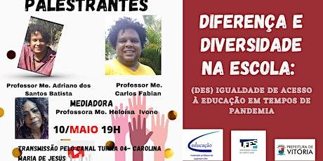 Diferença e diversidade na escola bilhetes