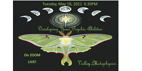 Developing your Psychic Abilities tickets