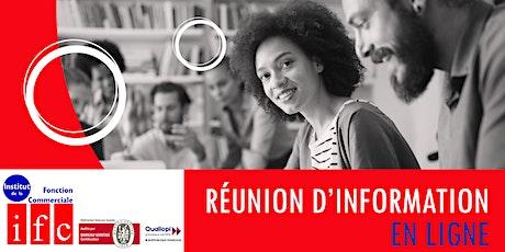 REUNION D'INFORMATION EN LIGNE DE L'IFC - 2021 billets