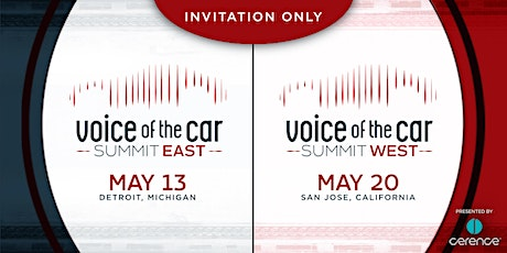 Voice of the Car Summit East (May 13, Detroit MI) tickets