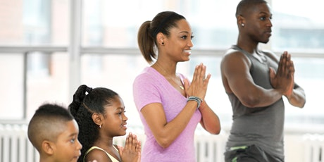 Yoga for adults and kids tickets
