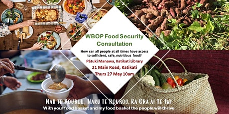 Food Security Hui - Katikati 27May tickets