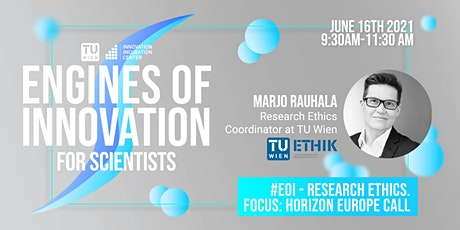 #EoI - Research ethics. Focus: Horizon Europe call tickets