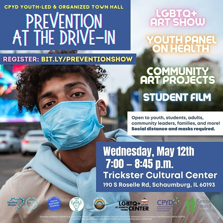 Prevention at the Drive-In: Youth Arts, Health & Community Building image