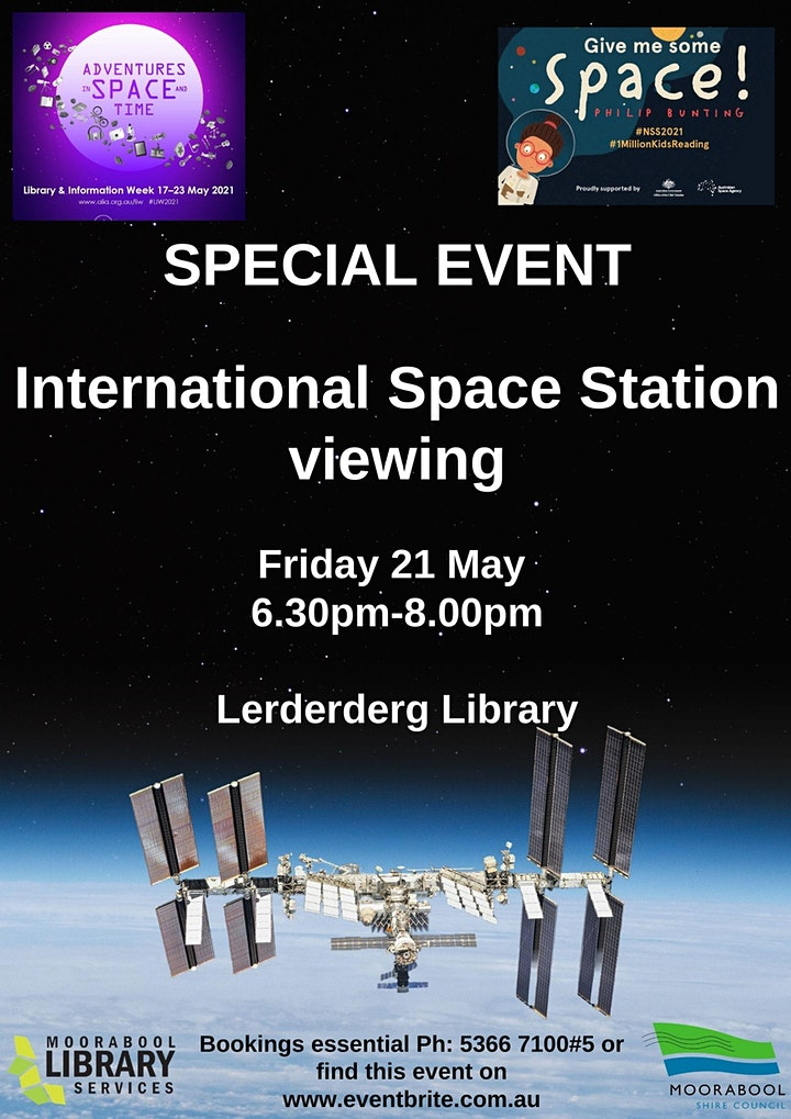 International Space Station viewing image