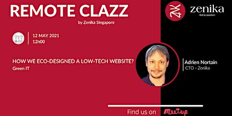 Green IT - How we eco-designed a low-tech website | RemoteClazz tickets