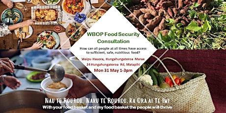 Food Security Hui - Matapihi 31 May tickets