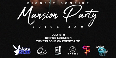 Bonfire Mansion party tickets