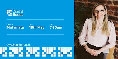 Digital Boost Workshop with Digital Ambassador - Sarah Imeson tickets