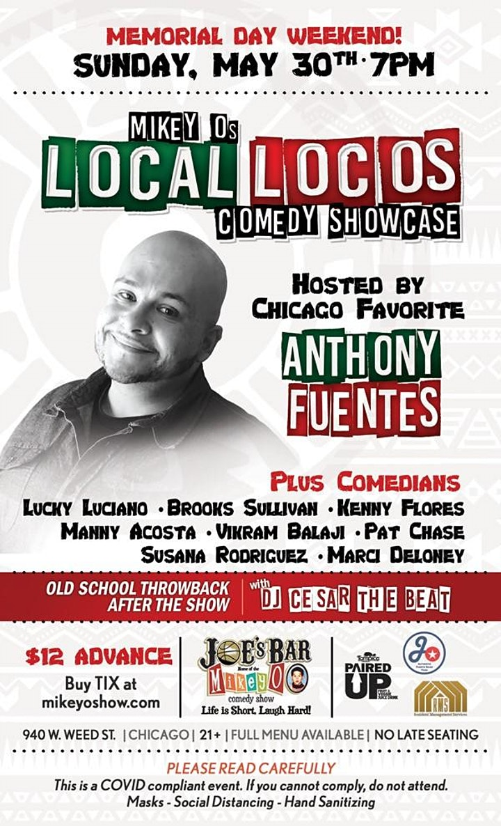 """Mikey O's """"Local Locos"""" image"""