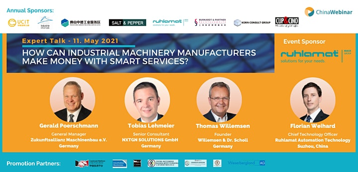 """""""How can machinery manufacturers make money with smart services?"""": Bild"""
