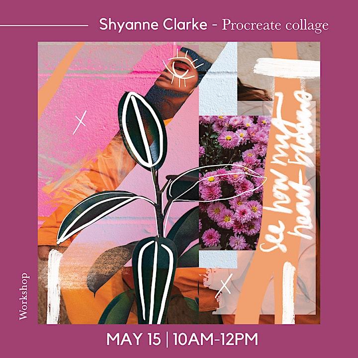 Beginners Procreate Digital Collage Workshop with Shyanne Clarke image
