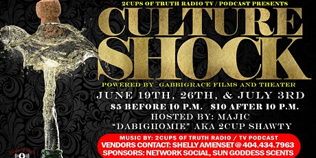 Culture Shock (#3WeekendsInARow) tickets
