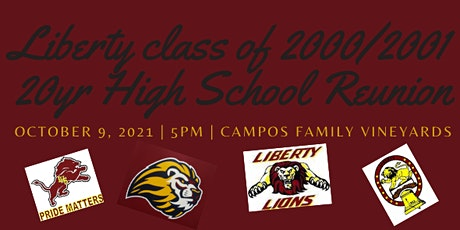 Liberty Class of 2001 Reunion tickets