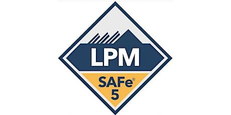 SAFe® Lean Portfolio Management with LPM Certification (Online) in BTII ingressos