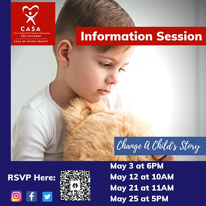 CASA of Union County Information Session image