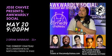 Jose Chavez presents: Awkwardly Social tickets