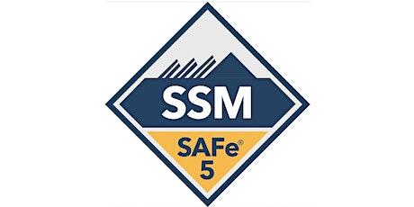 SAFe® Scrum Master with SSM Certification (Live Online) in BTII tickets