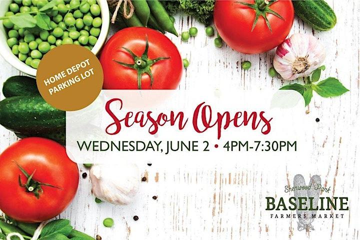 Baseline Farmers Market Sherwood Park - Season Opening image