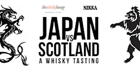 A JAPAN VS SCOTLAND WHISKEY TASTING! tickets