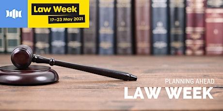Law Week Presentation - Planning Ahead - Ulladulla Library tickets