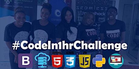 Code In 1hr Challenge, GSC Cohort 8 {Free Study Card} tickets