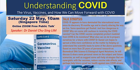 Understanding Covid - The Virus, Vaccine and How We Can Move Forward tickets