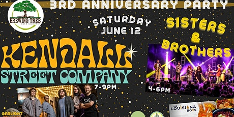 Brewing Tree 3rd Anniversary: Kendall Street Company and Sisters & Brothers tickets