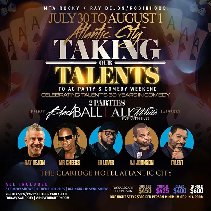 7/10-8/1 | Taking our TALENTS to ATLANTIC CITY image