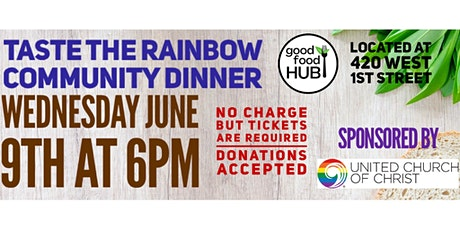Taste the Rainbow Community Dinner tickets