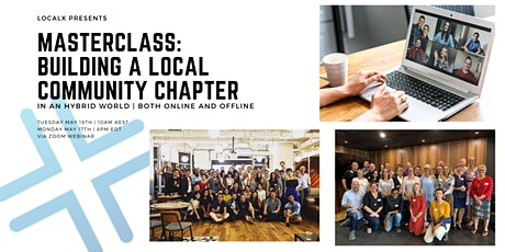 Building a Local Chapter Community  Masterclass tickets