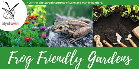 Thinking Green: Frog Friendly Gardens (Midland) tickets