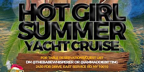 HOT GIRL SUMMER YACHT CRUISE tickets