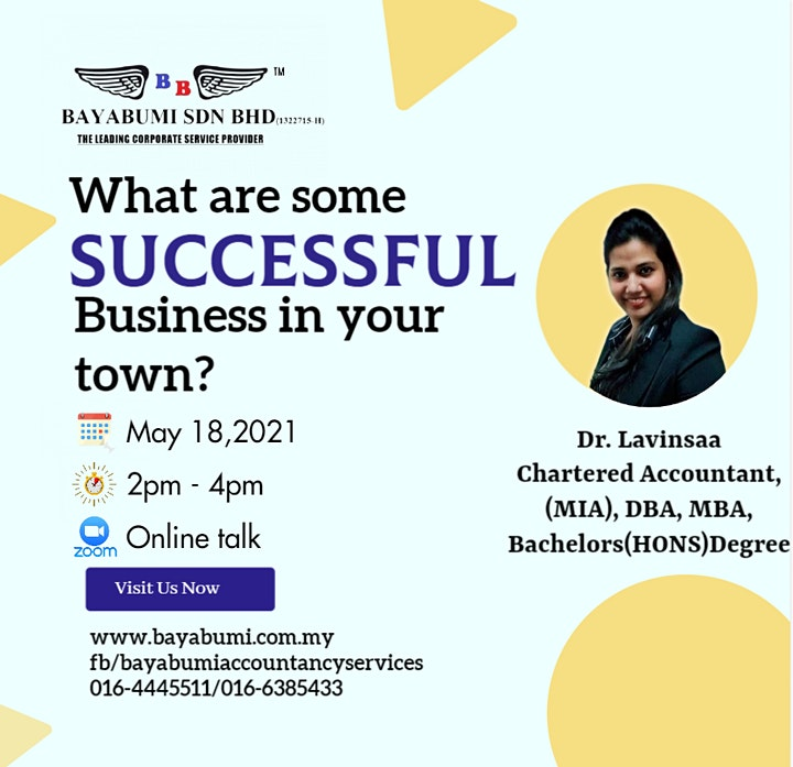 WHAT ARE SOME SUCCESSFUL BUSINESS IN YOUR TOWN image