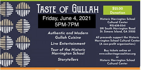 Taste of Gullah tickets