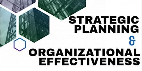 STRATEGIC PLANNING & ORGANIZATIONAL EFFECTIVENESS biglietti