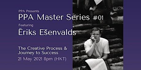 The Creative Process & Journey to Success with Ēriks Ešenvalds tickets