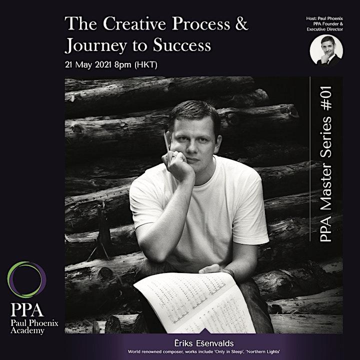 The Creative Process & Journey to Success with Ēriks Ešenvalds image