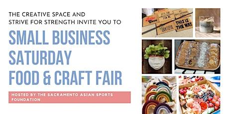 Small Business Saturday Food & Craft Fair tickets