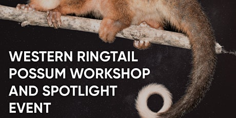 Western Ringtail Possum Workshop and Spotlight Event tickets