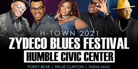 H-Town Zydeco Blues Festival 2021 tickets