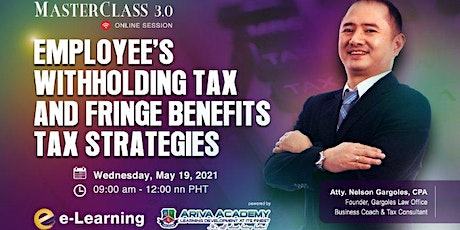 Employee's Withholding Tax and Fringe Benefits Tax Strategies tickets
