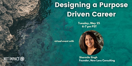 Designing a Purpose Driven Career tickets