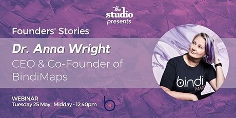 Dr Anna Wright, Founder of BindiMaps tickets