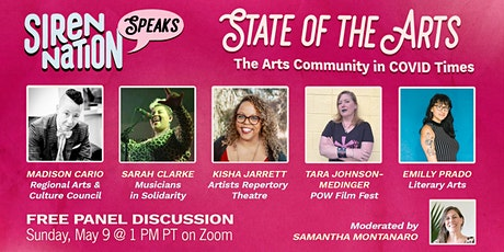 The State of the Arts in COVID Times biglietti