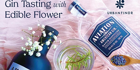 2 hours Gin Tasting with Edible Flower tickets