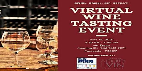 NBMBAA Detroit & House of Pure Vin Virtual Wine Tasting  Fundraiser tickets