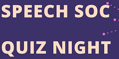 SpeechSoc Quiz Night tickets