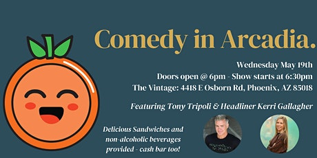 Comedy in Arcadia tickets